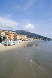 Alassio. Tourist destination in Liguria region of Italy