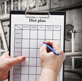 draw up a diet plan