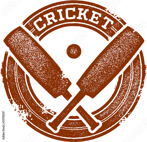 Cricket Sport Stamp