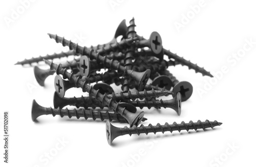 Black drywall screws