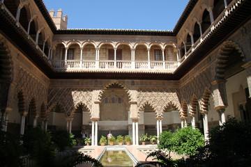 Patio de la doncellas, Séville