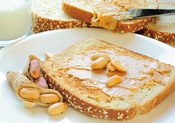 Bread Milk and Nut Butter
