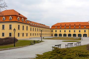 in old castle in Bratislava