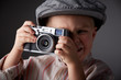 Young press photographer