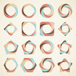 Abstract design elements,