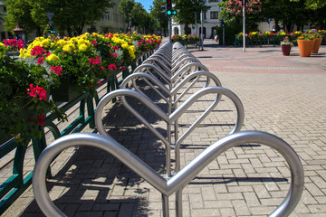 cycle parking area
