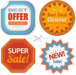 Super sales retro badges collection