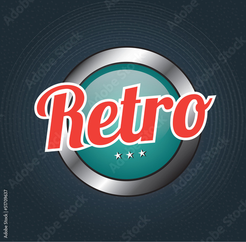 Retro button