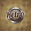 Button retro