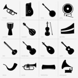 Set of musical instruments (part 2)