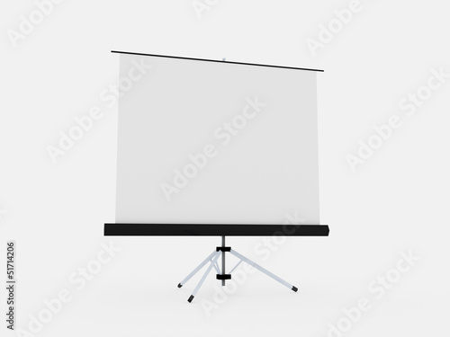 Projector board isolated