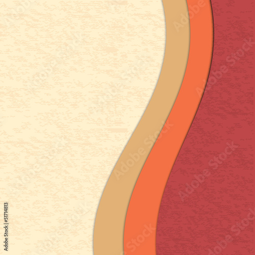 Colored paper abstract background