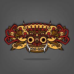 Barong Balinese traditional  art