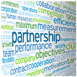 """PARTNERSHIP"" Tag Cloud (team management contract leadership)"