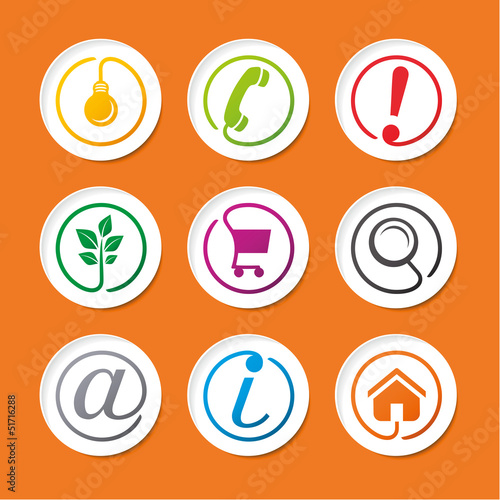 Web icons collection.eps