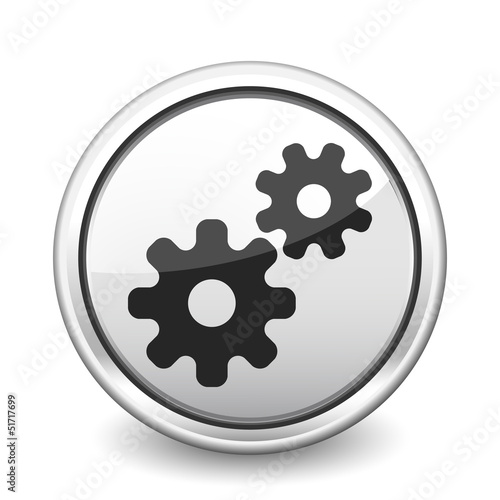button gray gears