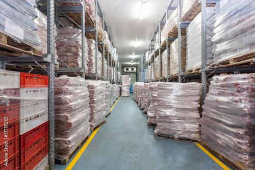 Leinwanddruck Bild Warehouse