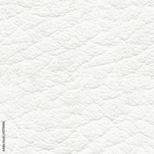 Spoed canvasdoek 2cm dik Kunstmatig White leather seamless texture