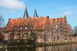 Famous salt warehouses in Lubeck, Germany
