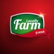 Farm food label, badge or seal