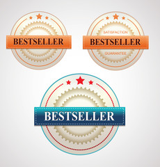 Bestseller Vector Labels