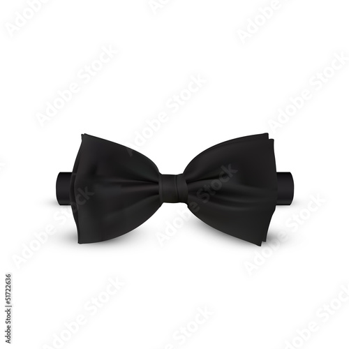 bow-tie isolated on white background