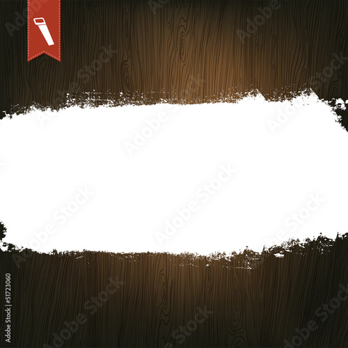 Wooden Background, With Space For Text.