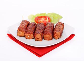 Grilled romanian meat rolls - mititei, mici