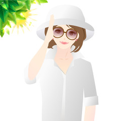 女性 紫外線対策 UVケア