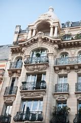 immeuble parisien de standing