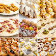 Appetizers and pastries
