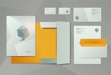 Corporate identity kit or business kit for your business