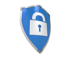 Blue Shield Lock