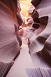View in the famous Antelope Canyon