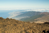 Tenerife Island. The view from Teide volcano