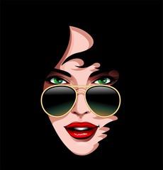 Seduction Woman's Beauty Portrait-Donna Seducente Ritratto