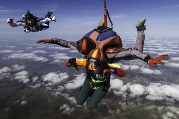 Skydiving photo. Tandem.