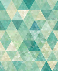 seamless background with abstract geometric ornament