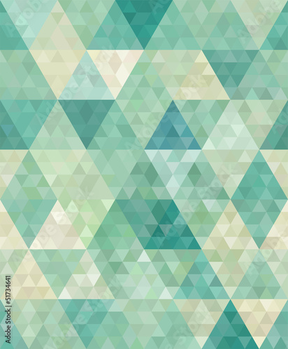 Fototapeta seamless background with abstract geometric ornament