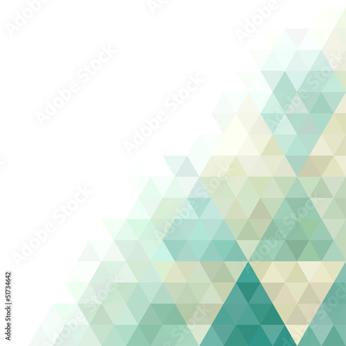vector background with abstract geometric ornament