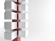 White 3d cubes | Concept