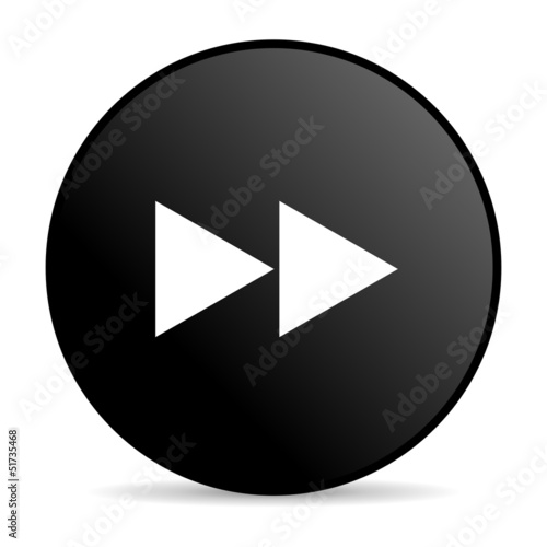 scroll black circle web glossy icon