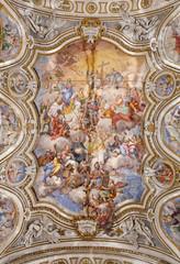 Palermo - Fresco Il trionfo di Santa Caterina