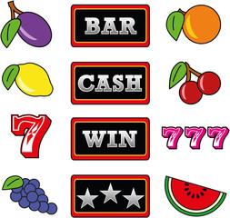 Slot Machine Symbols (Spiel Automat Symbole)