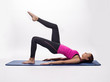 Pilates Stretching Fitness Frau