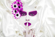 Das Studio Poster, Frau mit tollem Make Up