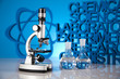 Chemistry science formula, Laboratory glassware
