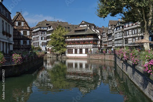 La Petite France district in Strasbourg, France