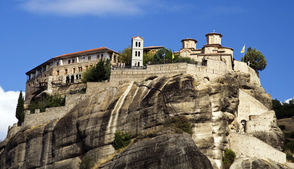 Meteora Monasteries in Trikala region, Greece