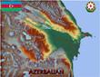 Azerbaijan Eastern Asia national emblem map symbol motto